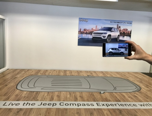 Jeep Compass skoðaður í sýndarveruleika