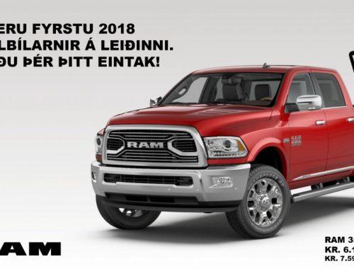 Fyrstu RAM 2018 á leiðinni