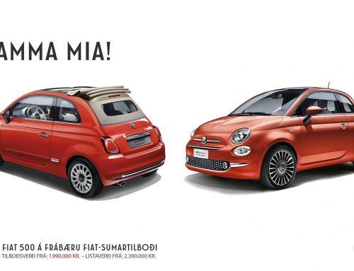 Fiat 500 – Sumartilboð