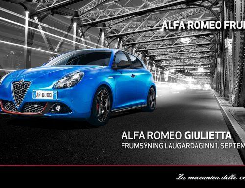Alfa Romeo Giulietta frumsýnd á Íslandi