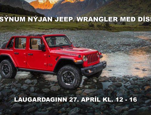 Goðsögnin Jeep® Wrangler nú með díselvél