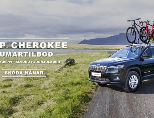 Jeep Cherokee  – Sumartilboð
