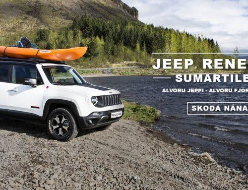 Jeep Renegade – Tilboðspakkar á lagerbílum