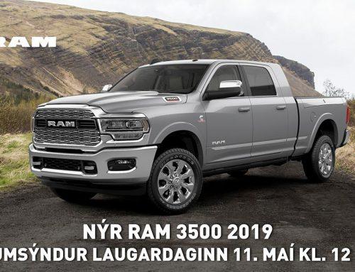 Frumsýnum nýjan RAM 3500 2019