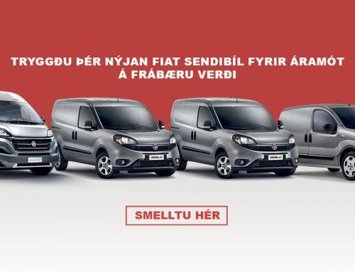Tryggðu þér nýjan Fiat sendibíl fyrir áramót.
