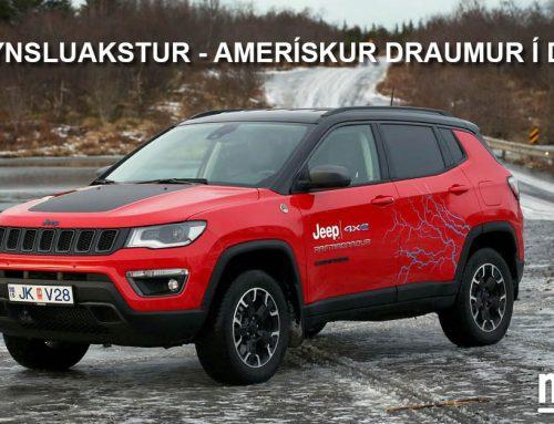 Jeep Compass – Amerískur draumur í dós