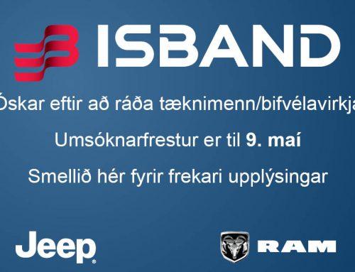 Atvinna – Tæknimenn / Bifvélavirkjar
